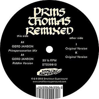 Prins Thomas - Gerd Janson Remixes [Vinyl] USA import