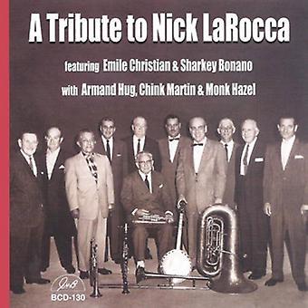 Hyldest til Nick Larocca - hyldest til Nick Larocca [CD] USA importerer