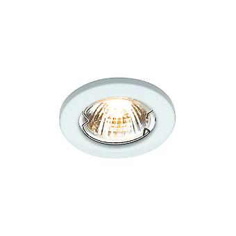 LED Robus Rida GU10 240V Downlight, vit