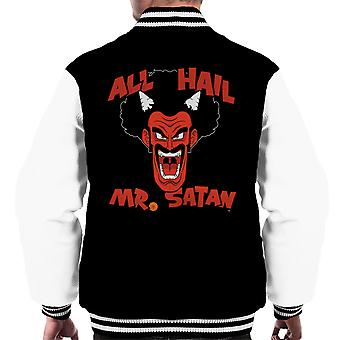 All Hail Mr Satan Dragon Ball Men's Varsity Jacket