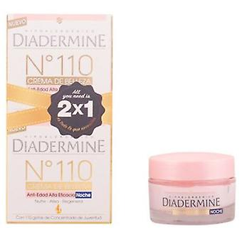 Diadermine Anti-aging Night Cream No.110 Lot 2 Pieces 50ml x 2