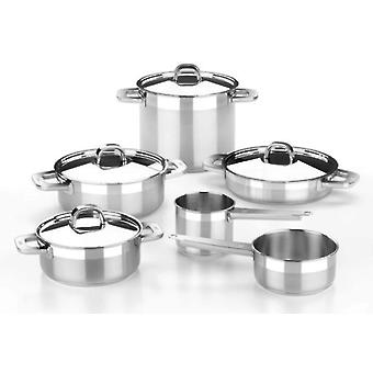 Bra 5 Piece Stainless Steel Advance. Suitable Induction