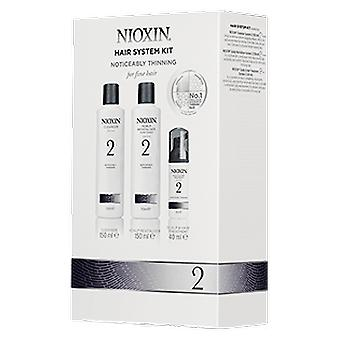 Nioxin Trial Kit System 2 (Capillair , Pak , Behandelingen , Styling producten)
