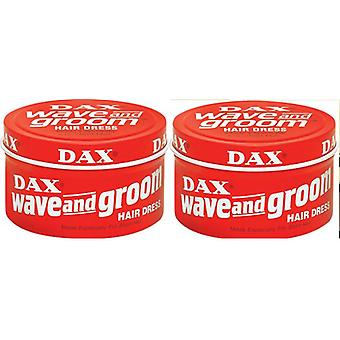DAX Wave And Groom Hair Dress Red 99g