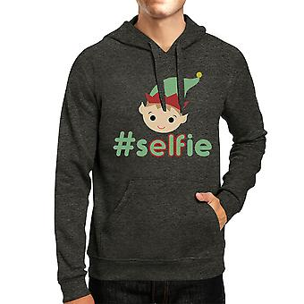 Hashtag Selfie Elf Graphic Hoodie Graphic Pullover Christmas Gifts