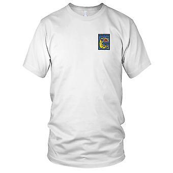 US Coast Guard USCG - WHEC-65 Wanona Owasco klasse High Endurance Cutter geborduurd Patch--versie B dames T Shirt