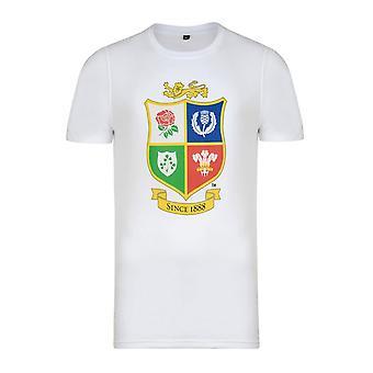 British & Irish Lions Logo Tee [white]