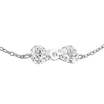 Bow - Bracelets de chaîne en argent Sterling 925 - W19260X
