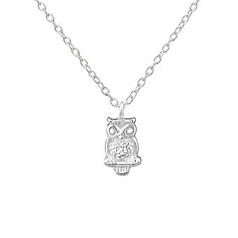 Owl - 925 Sterling Silver Necklaces