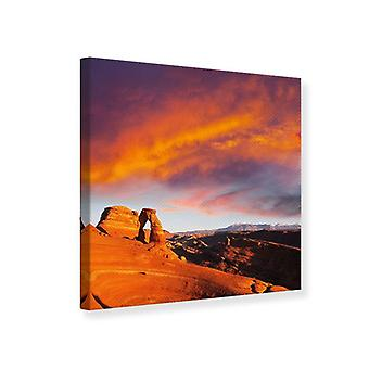Canvas Print Sunset In Canon