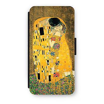iPhone 8 プラス フリップ ケース - Der Kuss