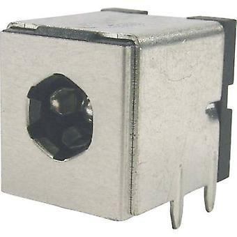 Low power connector Socket, horizontal mount 5.3 mm 2.5 mm