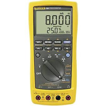 Fluke 789/EUR Handheld multimeter Digital Calibrated to: Manufacturer's standards (no certificate) Current draw reading