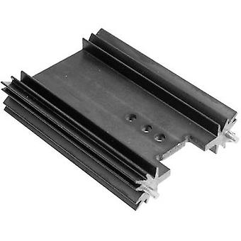 Fin heat sink 8.2 C/W (L x W x H) 25.4 x 45 x 11.94 mm TO 220, TOP 3, SOT 32