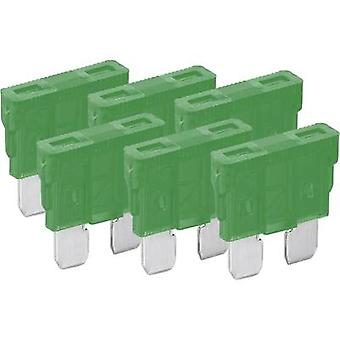 Standard flat fuse 6-pack 30 A Green FixPoint 20386