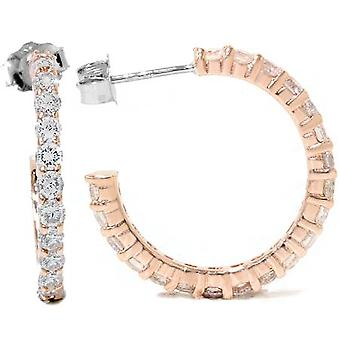 1 1 / 2ct diamant ringe 14K Rose Gold