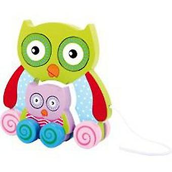 Legler Owl to drag (Babies and Children , Toys , Preschool , Babies , Push And Pull Toys)