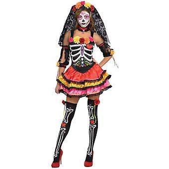 Amscan Day of Death Adult Costume (Babies and Children , Costumes)