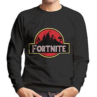 Fortnite Jurassic Park Mix Herren Sweatshirt