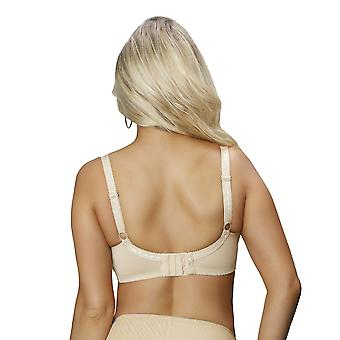 b1c72d3ebea62 Nessa B1 Women s Paris Beige Solid Colour Embroidered Non-Padded Underwired  Full Cup Bra