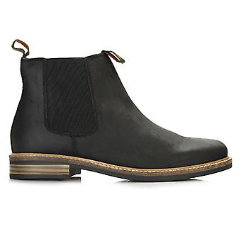 Barbour Mens Black Farsley Chelsea Boots