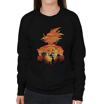 Dragon Ball Z Namek Sunset Damska bluza