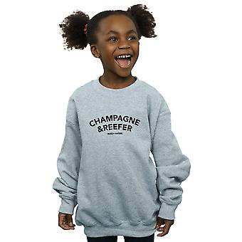 Muddy Waters Girls Champagne  And Reefer Sweatshirt