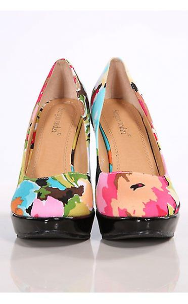 The Fashion Wedge Shoes Floral Becca Bible ApAHx47