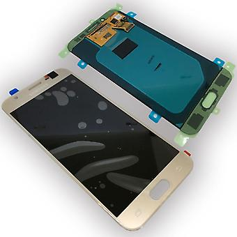 Samsung display LCD complete unit for Galaxy J5 J530 2017 GH97-20738 C gold