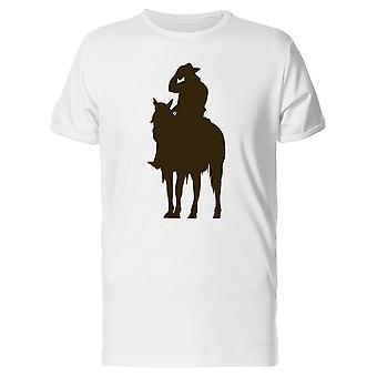 Cowboy Silhouette Art Tee Men's -Image by Shutterstock