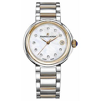 Maurice Lacroix Womens Fiaba Mother Of Pearl Dial Two Tone Bracelet FA1007-PVP13-170-1 Watch