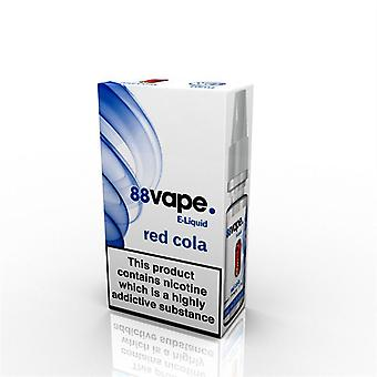 88 Vape E-Liquid Nicotine 16mg Red Cola 10ML