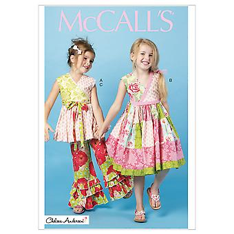 Children's/Girls' Top, Dress and Pants-CL (6-7-8) -*SEWING PATTERN*