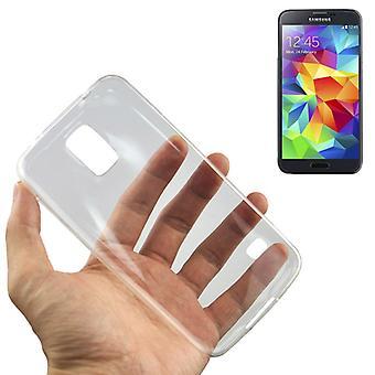 Samsung Galaxy S5 / S5 neo transparante geval kaft siliconen