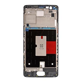 OnePlus 3 LCD støtte ramme - sort