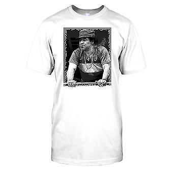 Maradonna fumare un sigaro Mens T-Shirt