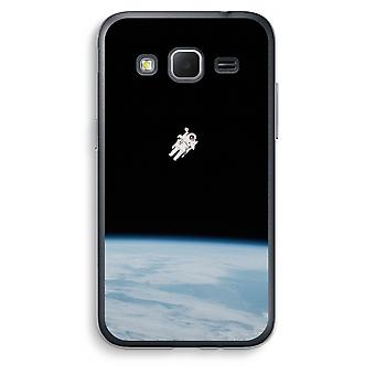 Samsung Galaxy Core Prime Transparent Case (Soft) - Alone in Space