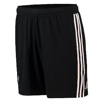 2018-2019 Man Utd Adidas Away Shorts (Black)