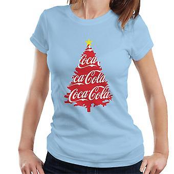 Coca Cola Christmas Tree Women's T-Shirt