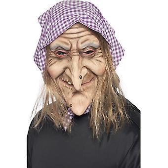 老女巫面具,一个大小
