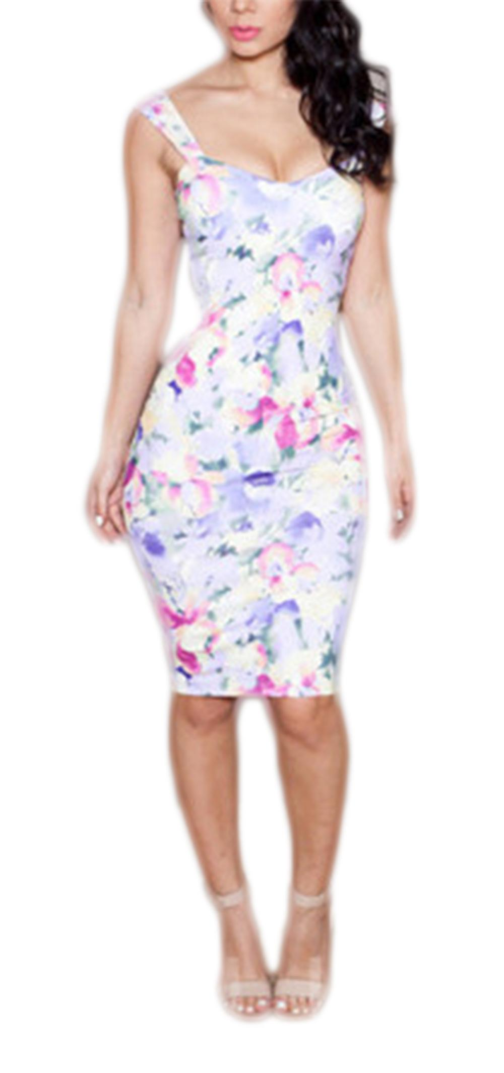 Waooh - kjole trykte blomster Dianus
