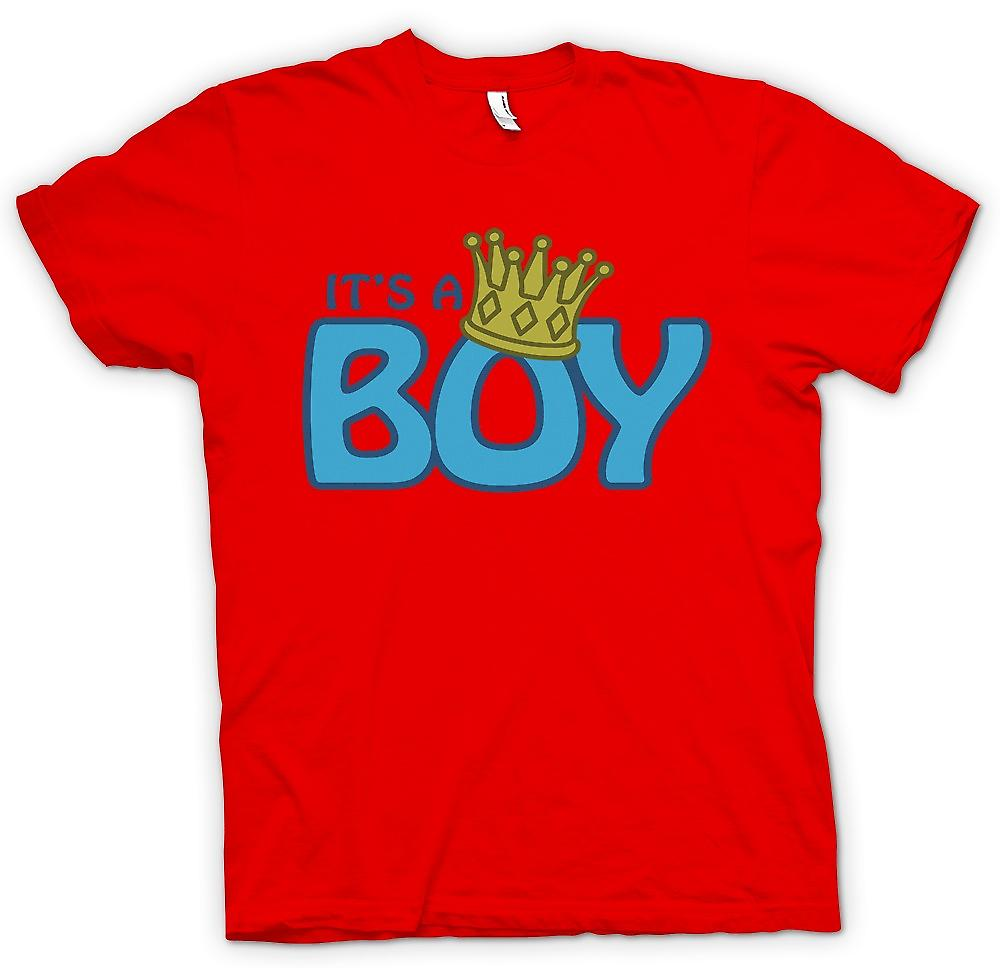 Mens T-shirt - it�s a Boy - Prince George - Royal Family