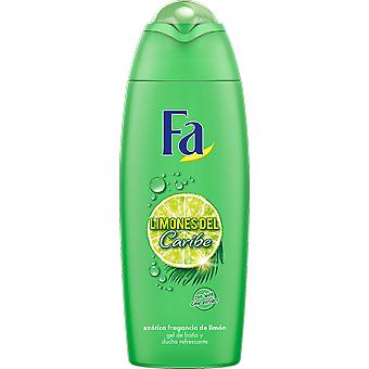Fa Caribbean Lemon Exotic Fresh Shower Gel 600 ml