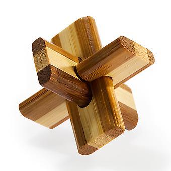 3D puzzle cerveau bambou Double Croix **