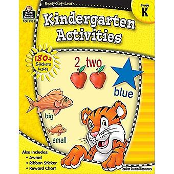 Activités de l'école maternelle: Grade K