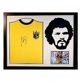 Brasil Socrate Signé shirt Silhouette