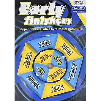 Early Finishers: Bk. G: Independent Activities to Reinforce Basic Skills