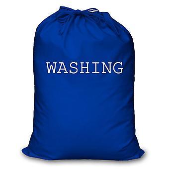 Torba na pranie niebieski