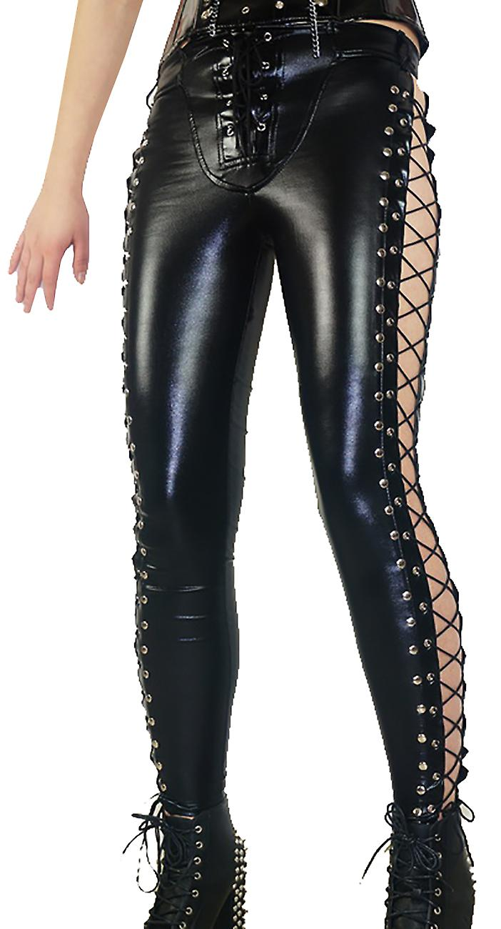 Waooh - Legging with crossed laces on the side Eyne
