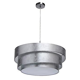 Glasberg - lampwork finition trois pendentif lumineux à Base de Chrome 454011103